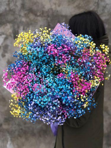 Ziedu pušķis RAINBOW ART