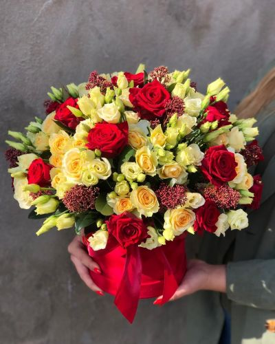 Ziedu kaste ALISSA YELLOW