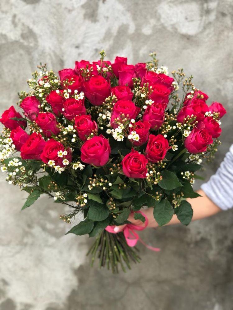 Rožu pušķis MADAM CERICE