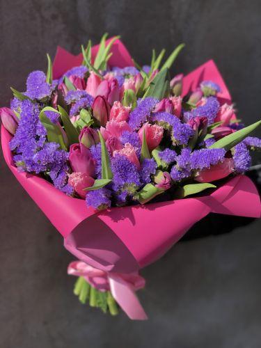 Ziedu pušķis PINKY WINGS