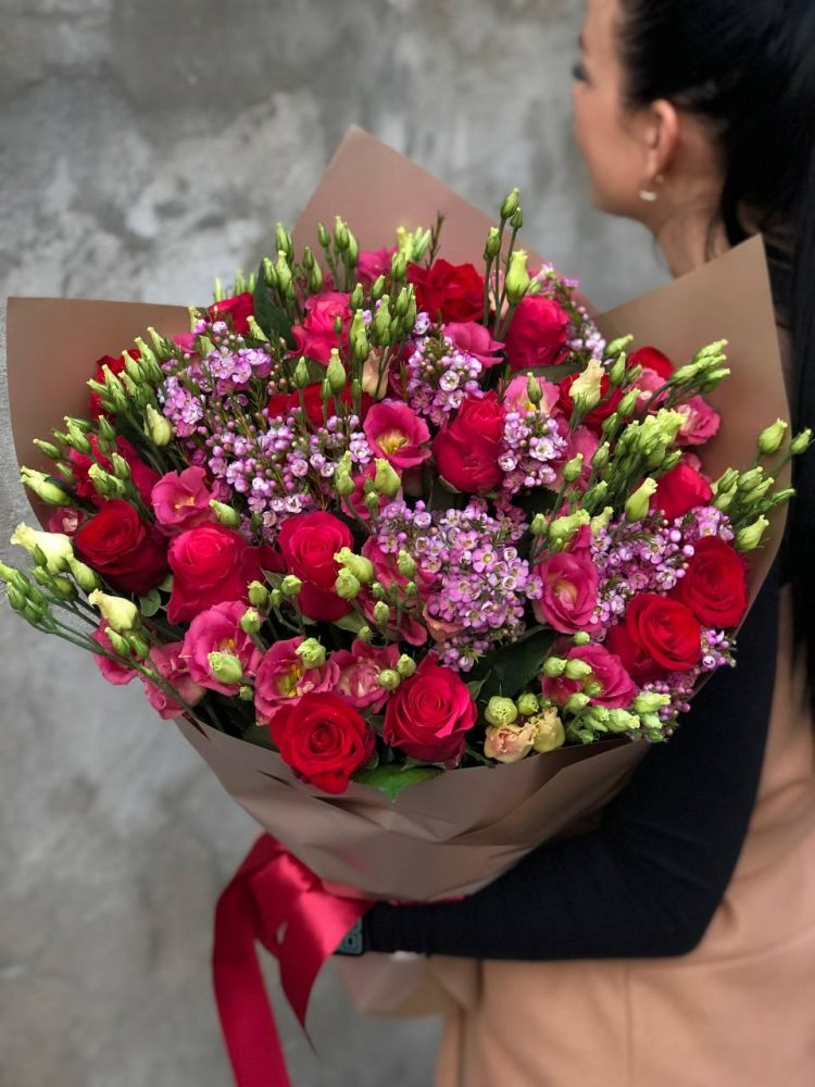 Rožu pušķis BALLERINA