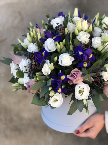 Ziedu kaste BABY BLUE