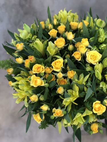 Ziedu pušķis LEMON