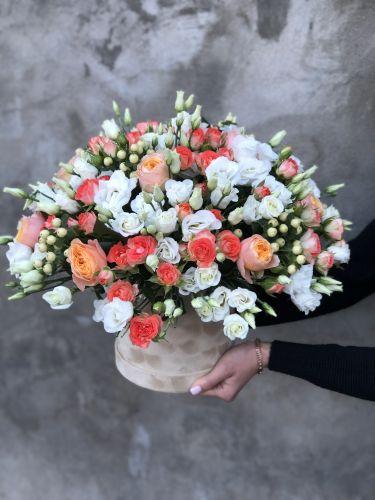 Цветочная коробка APRICOT