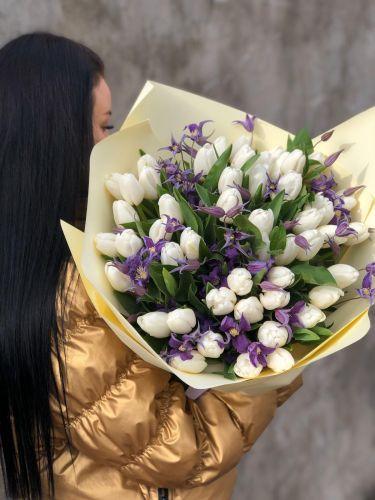 Ziedu pušķis LILAC UPDATE
