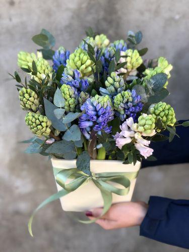 Ziedu pušķis RAINBOW AROMA + dek. pods