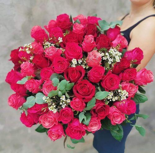 Букет из роз PINK FLOYD