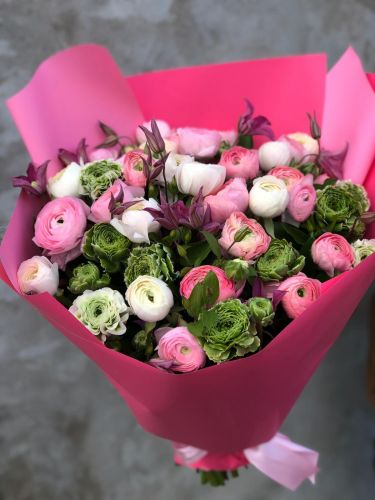 Ziedu pušķis SPRING BOHEME