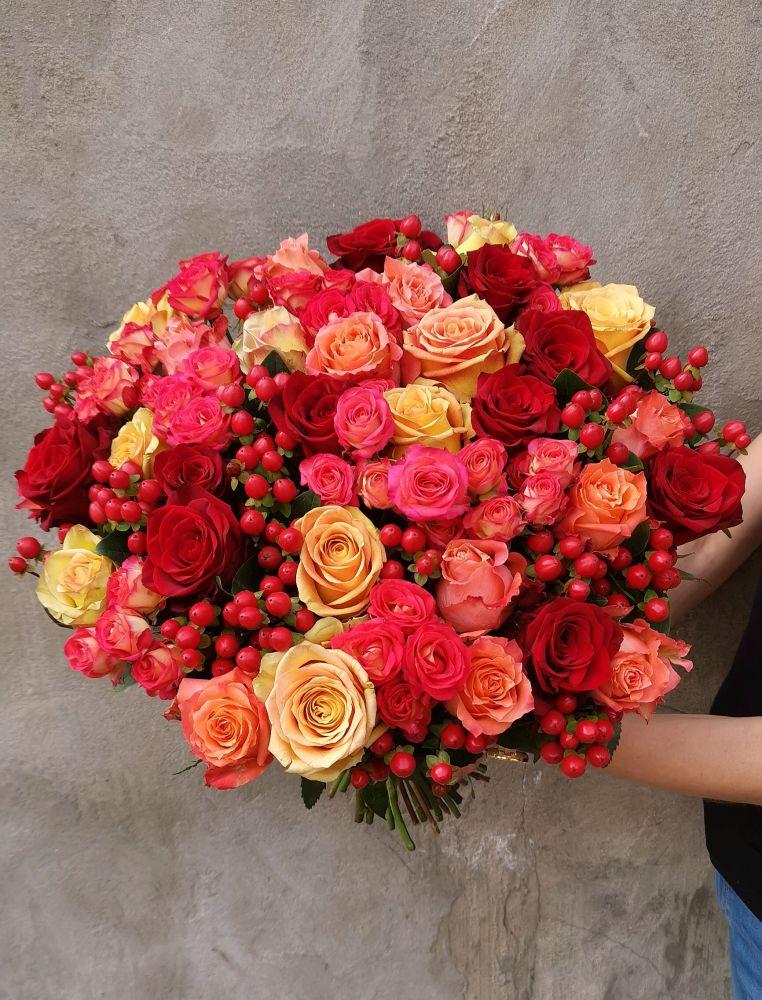 Ziedu pušķis AUTUMN