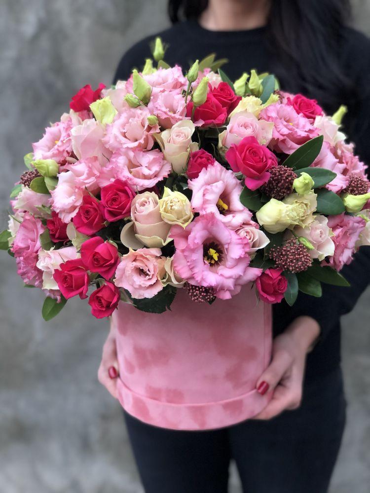 Цветочная коробка LADY PINK