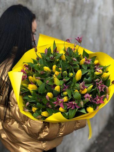 Ziedu pušķis EXTRA YELLOW