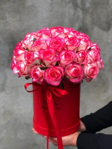 Цветочная коробка PRETTY PINK