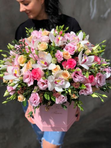 Цветочная коробка ROYALPINK