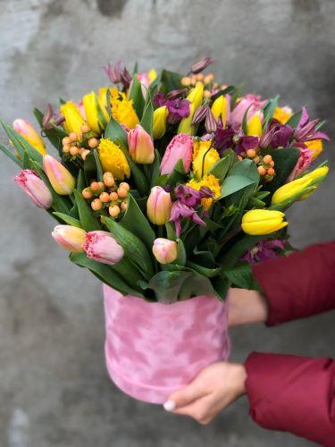 Цветочная коробка COLORFUL SPRING