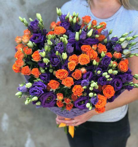 Ziedu pušķis LUCKY