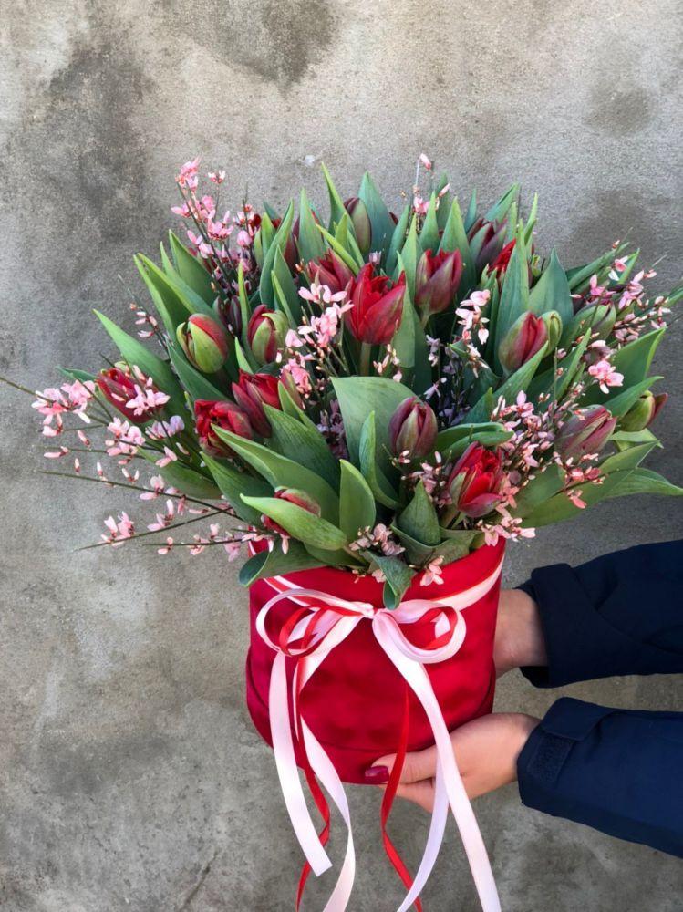 Цветочная коробка RED PRINCESS