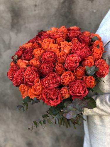 Rožu pušķis MONALISA