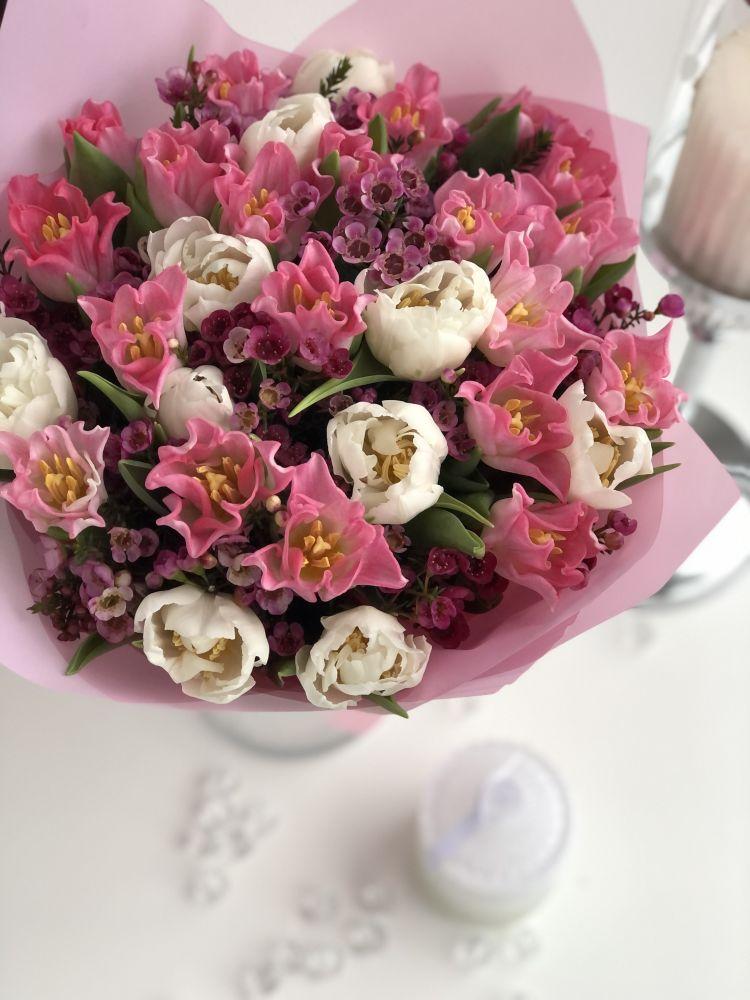 Ziedu pušķis LOVELY PINK