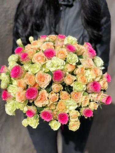 Ziedu pušķis HAPPINESS