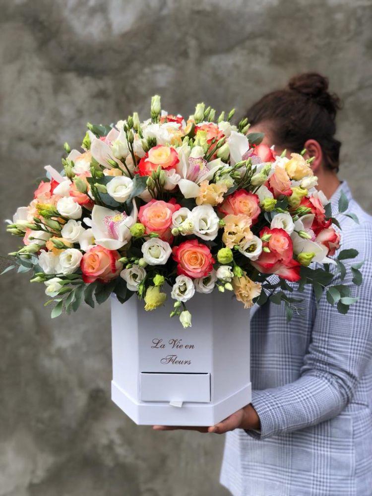 Цветочная коробка CABARET