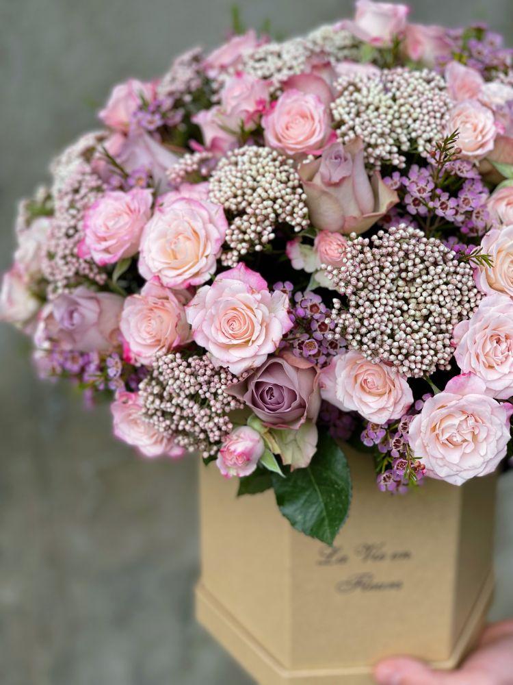 Ziedu kaste PRETTY-ROSE