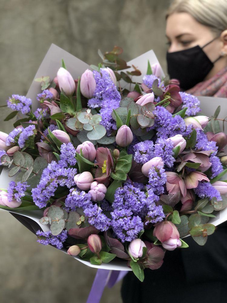 Ziedu pušķis BLUE MOON